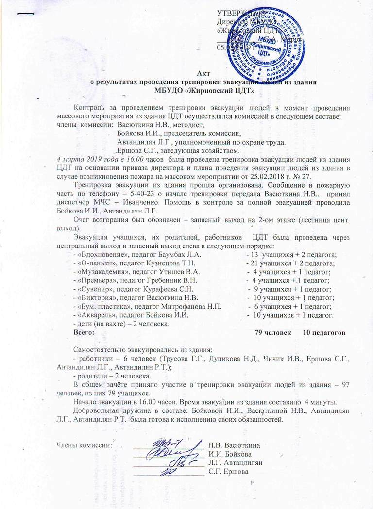 Жирновский Центр детского творчества - Материально